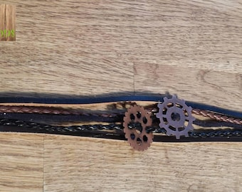 Rust color men bracelet