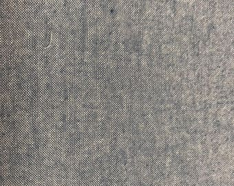 1/2 yard Light Blue Chambray fabric