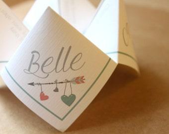 Wedding Thank You Cootie Catcher (PDF - PRINTABLE)