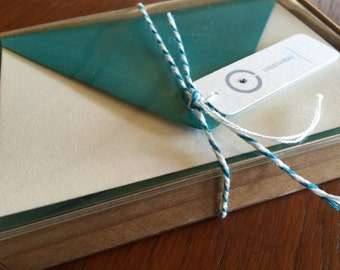 DIY Blank Note Cards - Box of 10 (add your own art)