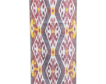 Sale! Ikat Fabric, Ikat Fabric by the yard, Hand Woven Fabric , F-A409