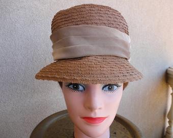 Brown Straw Hat