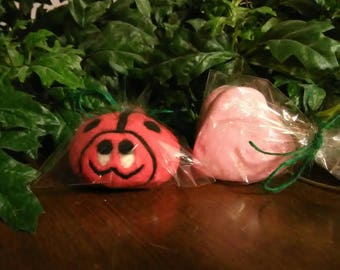 Very Berry Lady Bug Soap & Bubble Cookies
