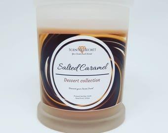 Scented Secret Salted Caramel Candle