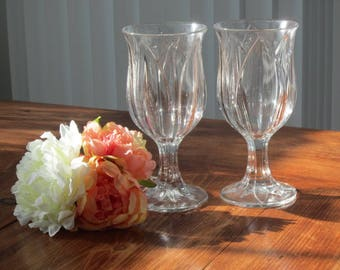 glasses, drinking glasses, goblets, toasting glasses, vintage accent, wedding, home decor, timelesspeony