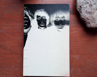 Rolling Stones Coptic Bound Sketch Book, Journal, from More Hot Rocks Album Cover