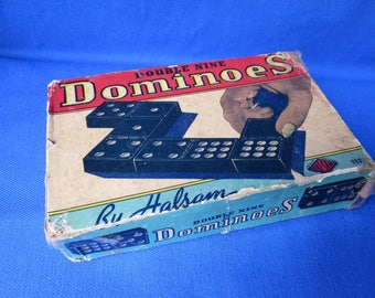 Complete Set of Double 9 Dominoes by Halsam Products division of PlaySkool #920