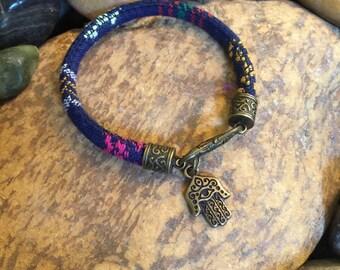 Yoga Jewellery, Graduation Gift, Mother's Day, Gift, Zen, Yoga, Hamsa Bracelet, Coworker Gift, Evil Eye Bracelet, Bohemian Earth Designs