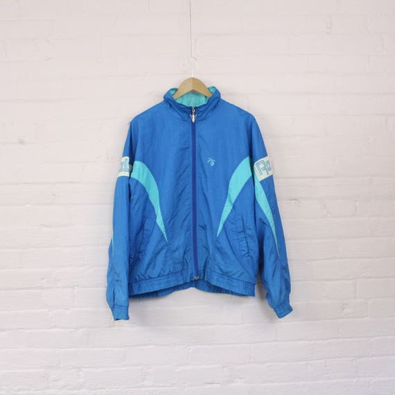 80s Reebok Windbreaker Jacket · Vintage Reebok Tracksuit · Reebok Rain Jacket · Fresh Prince Jacket · Retro Windbreaker · Vintage Reebok · L rk9L20j5