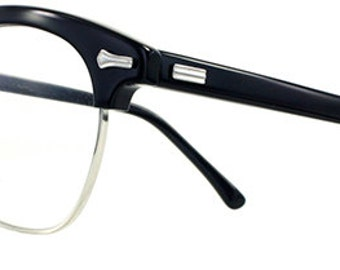 Vintage Combination Browline Glasses