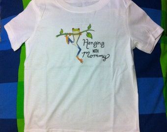 Cute Kids Clothes, Cute Toddler Clothes, Unique Kids Clothes, Frog Shirt, Holiday Gift, Tree Frog, Froggy