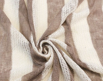 """2"""" Inch Brown Oatmeal Sweater Knit Fabric - 1 Yard Style 6267"""