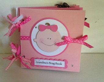 Baby Girl Grandma's Brag Book
