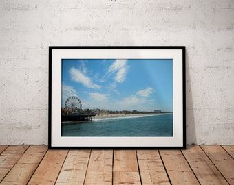 Santa Monica Pier | California | Photo Print