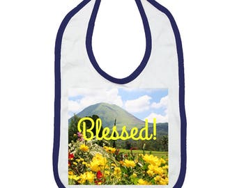 Blessed Nature Photo Infant Jersey Bib (NY)