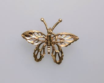 Butterfly - 9ct Gold Charm