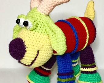Whimsical GOAT CROCHET PATTERN, Crochet toy, Softee