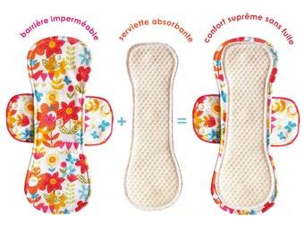 Organic Cotton Fabulous Flo Pads HEAVY
