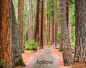 Inspiration Card - Follow your true path