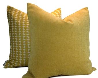 Decorative Pillow Cover, Kravet Gold Chenille, same fabric both sides