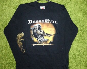 RARE Dream Evil - Dragonslayer long sleeve