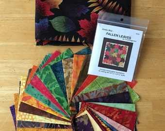 Mini Quilt Kit - Fallen Leaves