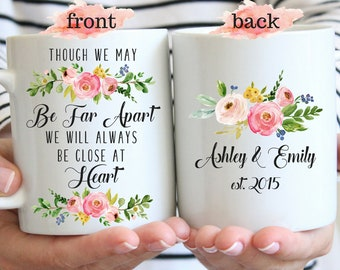 Custom Soul Sisters Mug Gift For Best Friend Girlfriend Mugs Mom Sister Gifts Personalized Long Distance You're My Person Moving Away Gift