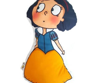 HobiZu Snow White Pillow Doll