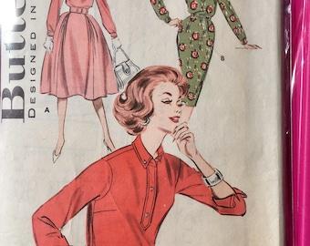 Butterick 50s dress pattern bust 36 used