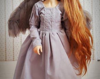 Dress + wings for minifee on moe-line body...