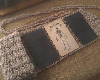 Cream Tarot Pocket with Reading Mat