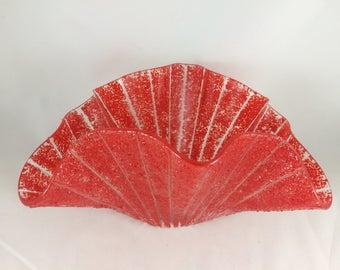 Red Glass Sea Fan Vessel