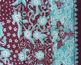 Lasem Handmade Indonesian Batik Kain Tuli