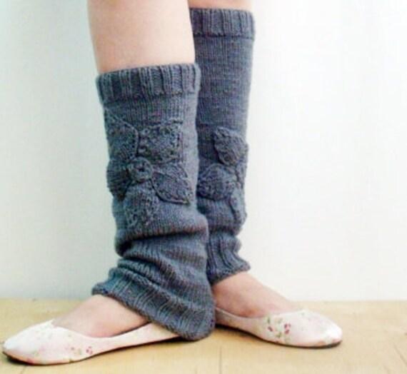 Knitting Pattern Ballet Leg Warmers Yoga Legwarmers Knitting