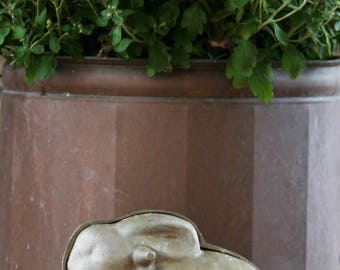 Vintage Bunny Chocolate Mold