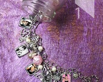 Audrey Hepburn  Charm Bracelet & Necklace