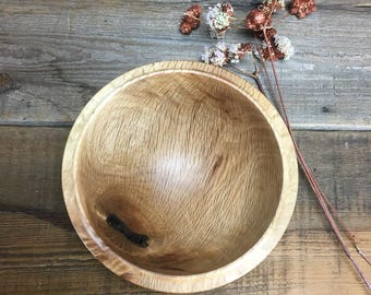 Wooden Bowl made from Oak