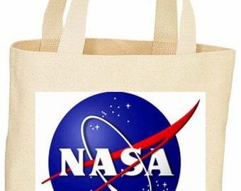 NASA custom tote bag