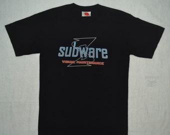 SUBWARE Clothing T Shirt Brooklyn NY NYC Size M medium street wear futura recon street art