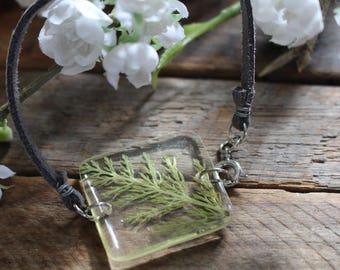 Square Fern Bracelet