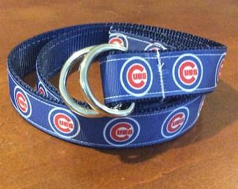 Chicago Cubs  Ribbon Belt