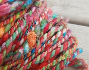 Handspun Spun Super Bulky Art Yarn