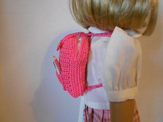 HÄKELN Muster PDF Puppe Größe Rucksack passt American Girl