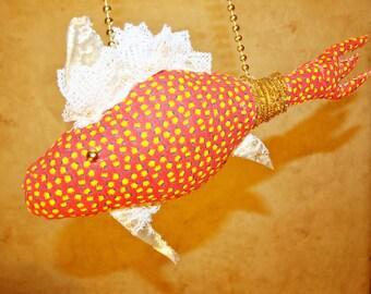 Goldfish, Gold fish Stuffed Homemade