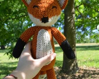 Handmade Crochet Fox