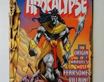 Marvel Comics The rise of Apocalypse, Issues 1, 2 & 3