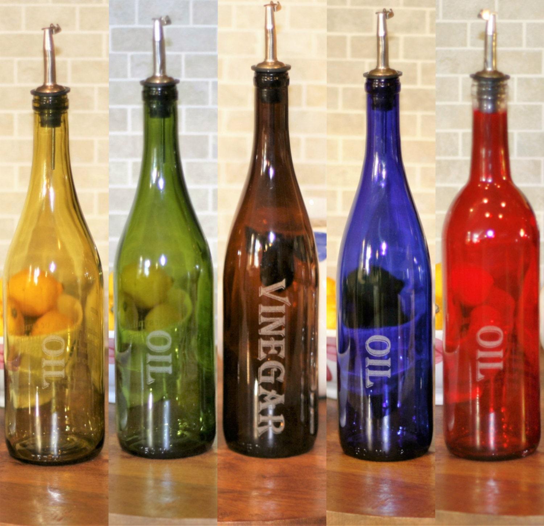 Wine Bottle Oil And Vinegar Cruet Gifts For Mom Christmas