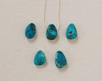 Chrysocolla Stone Pendant, Chrysocolla Pendant Necklace, Chrysocolla Jewelry, Healing Gemstone, Silver Necklace, Metaphysical Jewelry