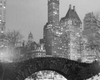 """New York City - Central Park 1961 - 24x36"""" Poster"""