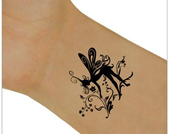 Fairy Temporary Tattoo 2 Wrist Tattoos